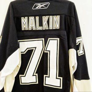 NWOT Reebok CCM Malkin Official Licensed Jersey